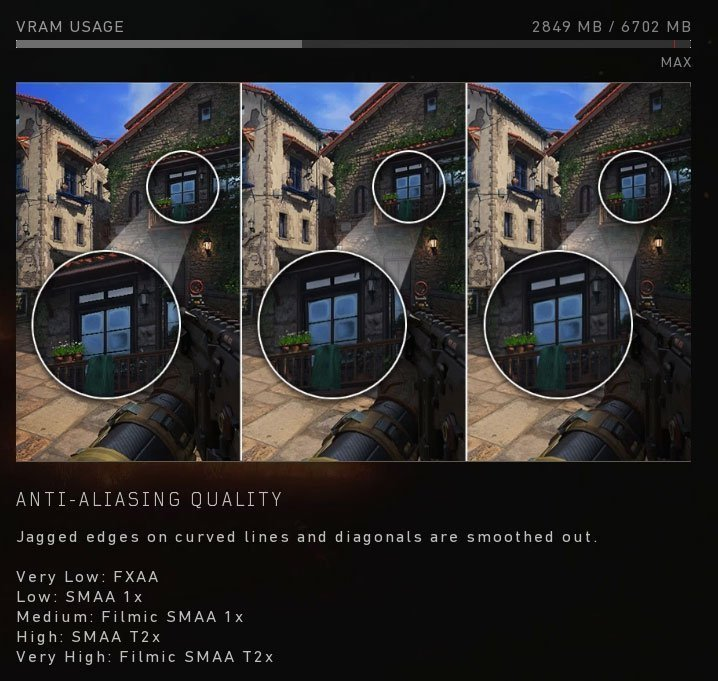 Call of Duty Black Ops 4 Anti-aliasing
