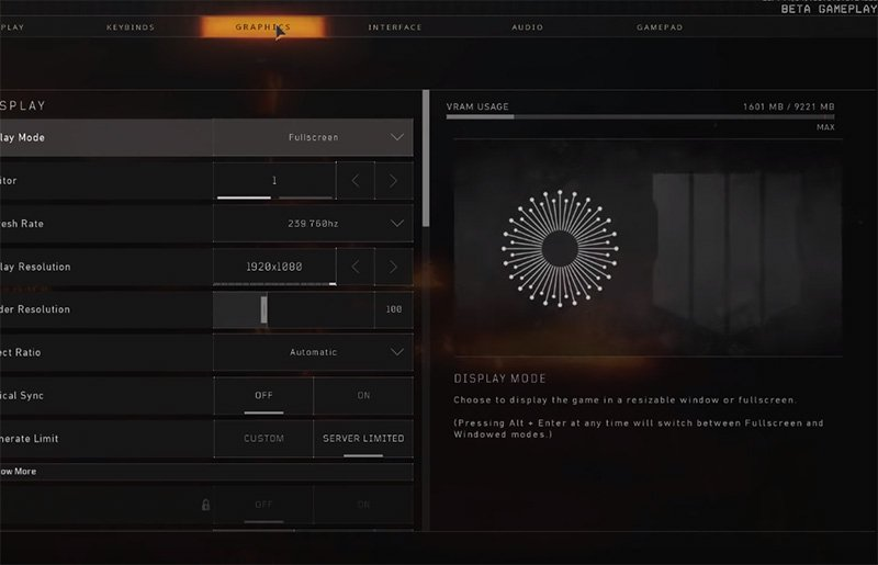 Ninja Call Of Duty Blackout Settings
