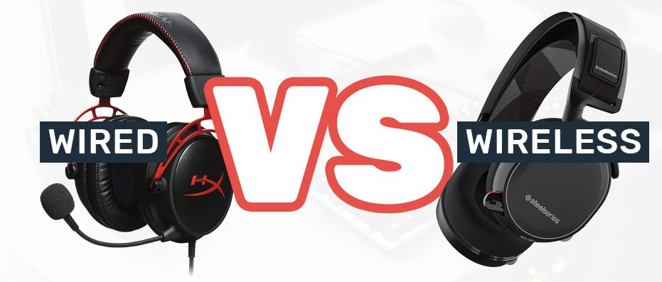 Wired vs Wireless Gaming Headset