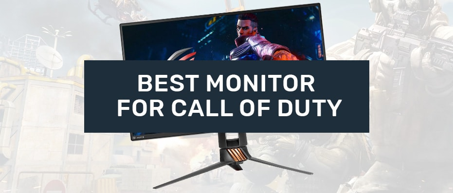 gaming monitor for call of duty