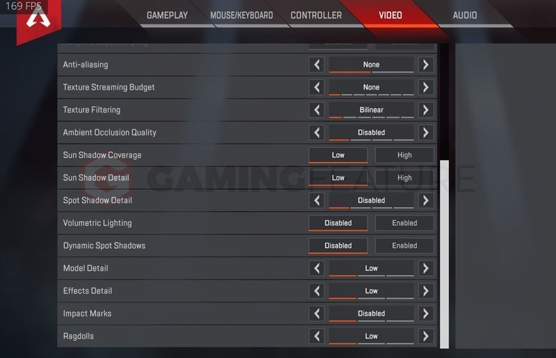 Skadoodle Video Graphics Settings