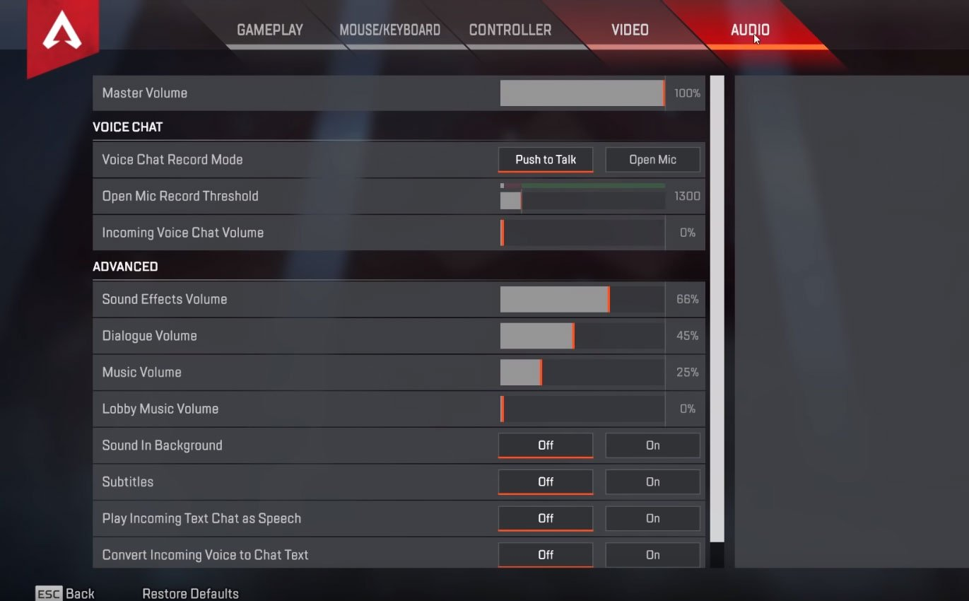 apex legends audio settings