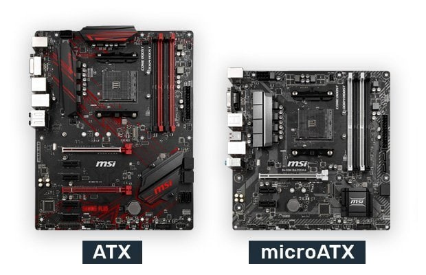 What is the Difference Between an ATX and a Micro ATX motherboard