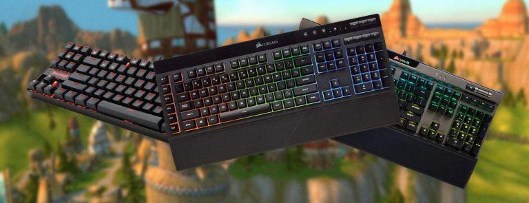 best keyboards for world of warcraft