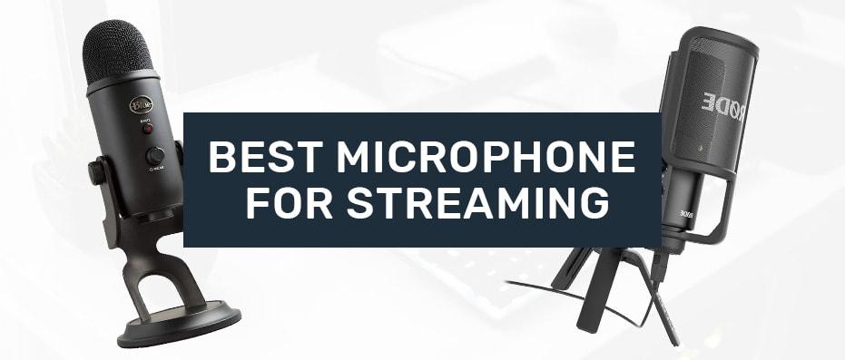 best streaming microphones
