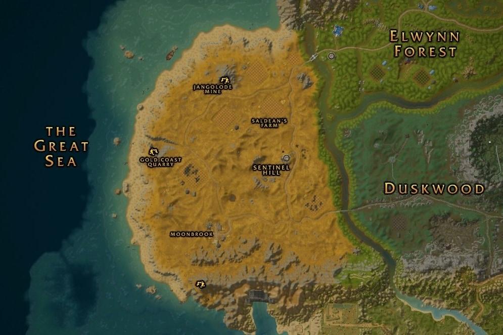 wow classic atlas world map