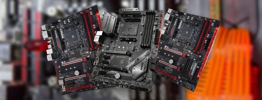 Motherboards Ryzen 7 CPU