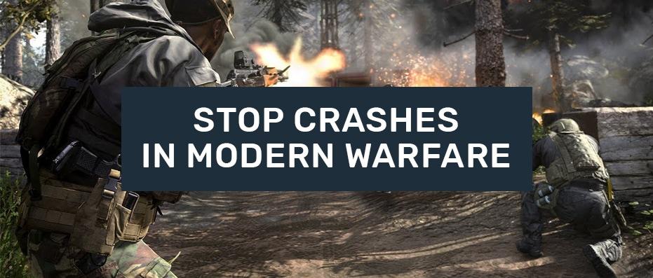 call of duty modern warfare crash