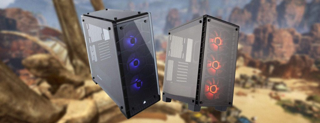Corsair 460x vs 570x PC Case Comparison