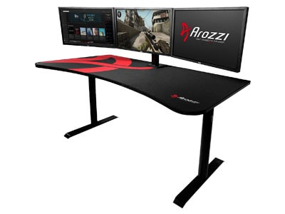 Gaming Dual Monitor Desk