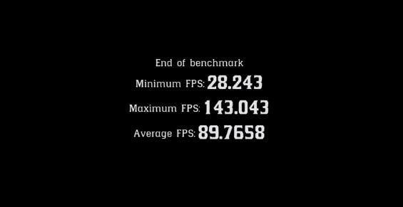 Red Dead Redemption Benchmark Test
