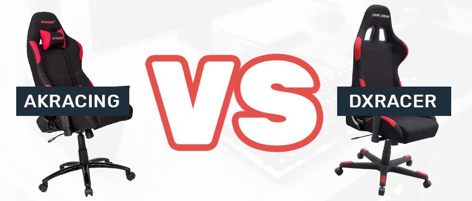 AKRacing vs DXRacer