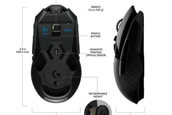 Logitech G903 comparison