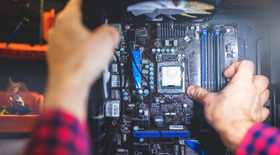 installing 120mm case fans in PC