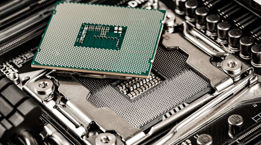 Intel i7 9700K processor and motherboard